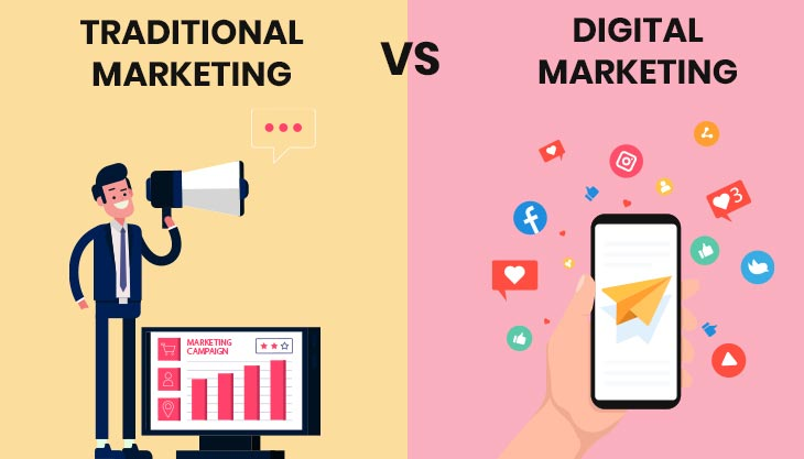 How Digital Marketing Is Different From Traditional Marketing