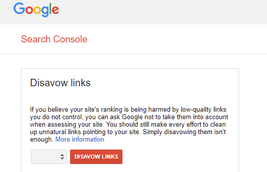 How to Use Google's Disavow Tool Correctly